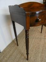 Irish Regency Mahogany Side Table (4 of 8)