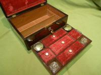 Inlaid Rosewood Jewellery – Vanity Box c.1860 (9 of 14)