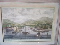 George Brannon Engraving of River Yar, Isle of Wight