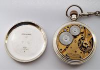 Vintage Silver Waltham Pocket Watch & Chain (4 of 4)