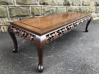 Large Antique Oriental Chinese Coffee Table (2 of 9)