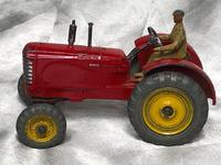 1950's Dinky Toys Massey Harris Red Tractor Plough Manure Spreader Disc Harrow (26 of 36)