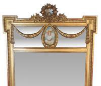 Tall 19th Century Gilt Framed Pier Hall Mirror (2 of 4)