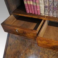 19th Century Walnut Bureau Bookcase (3 of 19)