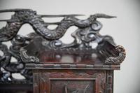 Carved Japanese Meiji Desk (5 of 12)