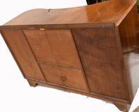 Art Deco Drinks Cabinet Walnut Vintage 1930s (16 of 16)
