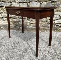 Antique Georgian Mahogany Fold Over Tea Table (14 of 27)