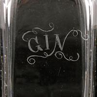 Early 19th Century Gin Decanter (4 of 8)