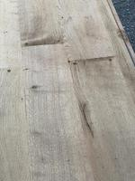 Rustic Bleached Oak Farmhouse Dining Table (9 of 25)