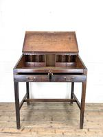 Antique Mahogany Clerk's Desk or Bureau (5 of 10)