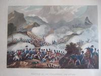 """Aquatint of the """"Battle of the Pyrenees, July 28th 1813"""", Pub. by James Jenkins in """"Martial Achievements of Great Britain & Her Allies 1799-1815"""""""