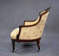 Victorian Rosewood Ladies & Gents Armchairs (14 of 22)