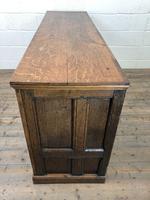 Antique Panelled Oak Dresser Base (9 of 10)