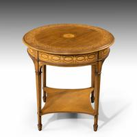 Very Fine Quality Early 20th Century Mahogany Centre Table (4 of 5)