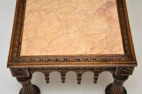 Antique Carved Marble Top Coffee Table (13 of 14)