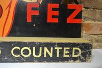 1950s Cutout & Countered Sign (2 of 5)