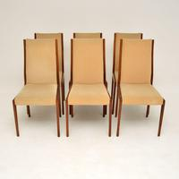 Set of 6 Danish Rosewood Vintage Dining Chairs (3 of 11)