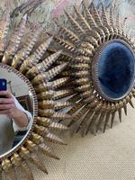 Pair of Spanish Gilt Brass Wall Mirrors (7 of 7)