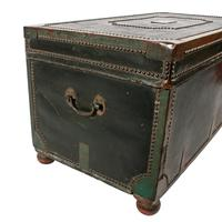 Georgian Leather Bound Campaign Trunk (6 of 8)
