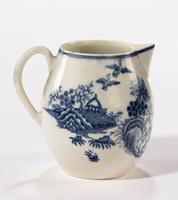 18th Century Liverpool Blue & White Printed Jug (5 of 5)