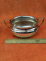 Art Deco Silver Plate EPNS Cream Jug & Sugar Bowl c.1930 (9 of 12)