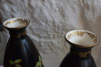 Pair of Crown Devon Lusterware Vases Decorated with Parrots (6 of 10)
