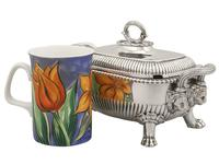 Sterling Silver Tureens - Antique George III 1810 (3 of 15)
