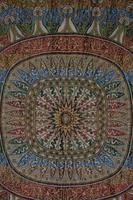 Large Vintage Middle Eastern Embroidered Silk Wall Hanging (5 of 10)