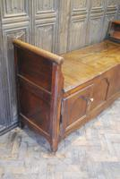 Antique French Coffer / Window Seat (3 of 7)