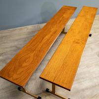 Pair of Teak Benches (3 of 7)