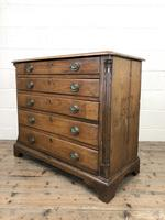 19th Century Elm Chest of Drawers (6 of 11)