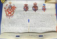 Queen Elizabeth II Grant for a Name & Coat of Arms (17 of 19)