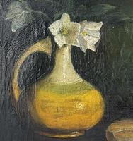 Oil on Canvas of Still Life (3 of 3)