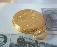 Vintage Pocket Watch 1970s Railroad 12ct Gold Plated West Germany Nos (7 of 11)