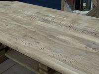 Huge French Bleached Oak Monastery Dining Table (24 of 30)