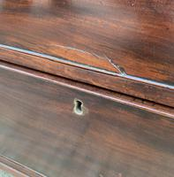 Regency Mahogany Bow Fronted Column Chest of Drawers (17 of 21)