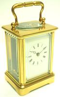 Fine Antique French 8-day Carriage Clock Timepiece - Interesting & Rare Size c.1870 (3 of 13)