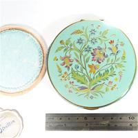 Rare Unused 1930s Hand Painted Enamel Stratton Powder Compact (3 of 8)