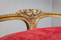 Gilt French Window Seat (7 of 7)