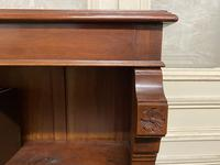 Mahogany Open Bookcase (2 of 11)