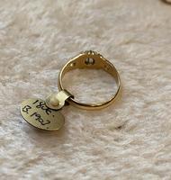18ct. Yellow Gold Single Diamond Ring 1903 (3 of 6)