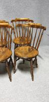 Good Set Six Kitchen Dining Chairs (Ibex) (5 of 7)