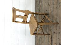 Set of Eight Antique Church Chairs (m-2068-8) (4 of 7)
