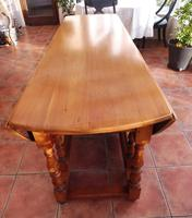 Fruitwood Wake Table extends 6 foot 1920s (7 of 10)