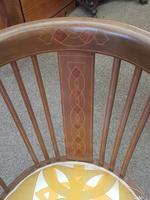 Edwardian Inlaid Tub Chair (2 of 7)