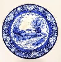 Doulton Burslem  Commemorative Plate - Whittier's Birthplace c.1895