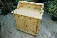 A Rare, Old Pine Sideboard/ Cupboard/ Desk/ Baby Changing Unit (3 of 11)
