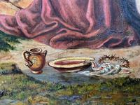 Pair of 19th Century Religious Old Master Oil Paintings - Set of 14 Available (27 of 32)