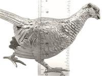 Sterling Silver Table Pheasant - Vintage Elizabeth II 1967 (12 of 12)