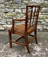 Antique Country Oak Armchair (8 of 14)